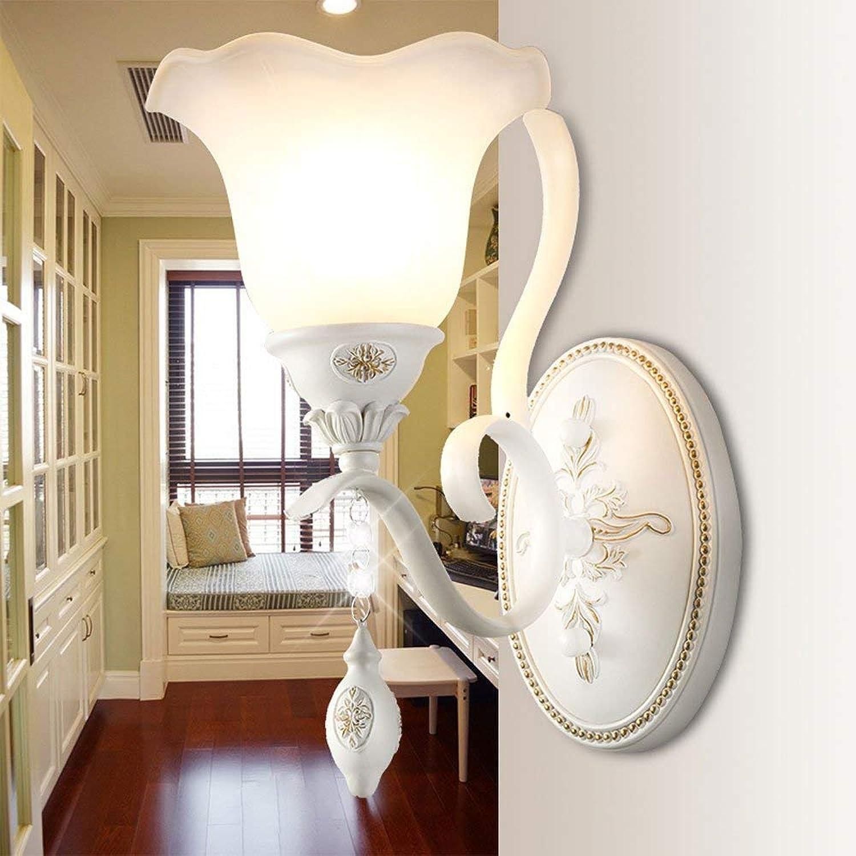 Kontinental Schlafzimmer Bett Licht Wandlampe Jahrgang Eisenkunst Wohnzimmer Hintergrundwand Erleuchtung 31  33CM