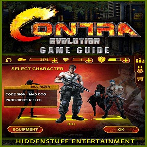 Contra Evolution Game Guide audiobook cover art