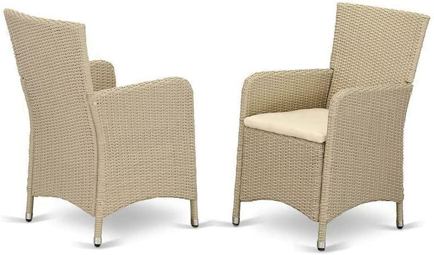 Wicker Patio Ranking Product TOP10 Chair Cream Patio-Dining-Chairs Ou Furniture