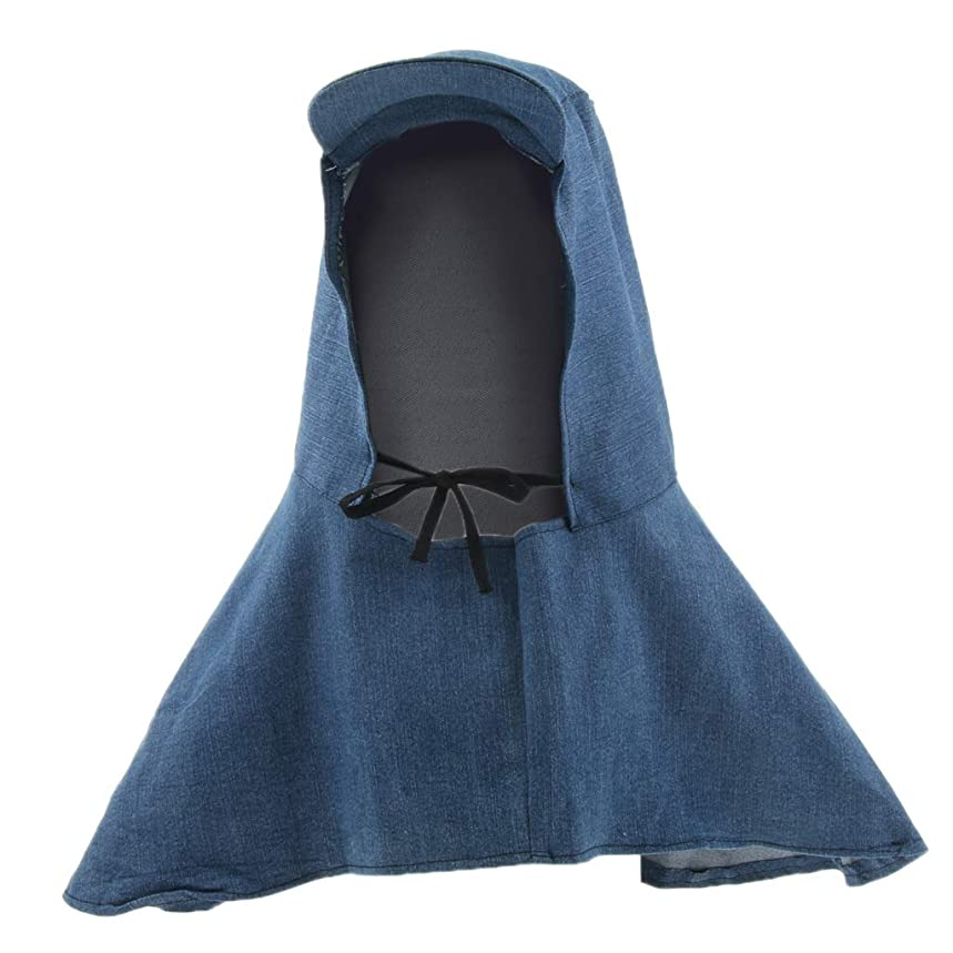 自体びっくりするサスティーン保護カバー ヘッド/ネック 溶接帽子 デニム 傷防止 電気溶接 - スタイル1