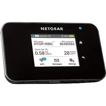 NETGEAR Routeur mobile 4G, Nighthawk Routeur 4G LTE AC810 - débit descendant jusqu'à 600Mbps | Connexion WiFi jusqu'à 15 appareils | Crée un WLAN n'importe où | Déverrouillé compatible toute SIM