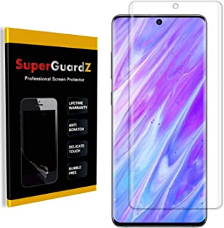 [3-Pack] for Samsung Galaxy (S20 Ultra) Screen Protector [3D Curved Full Coverage], SuperGuardZ, Anti-Glare, Matte, Anti-F...