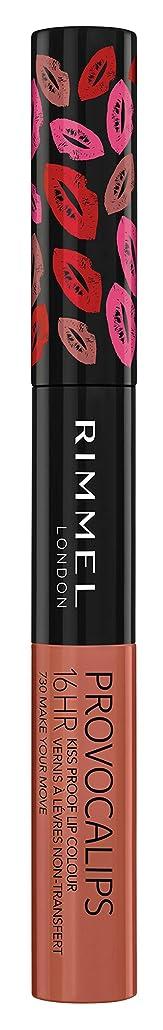 ヘッジ豊かな解くRIMMEL LONDON Provocalips 16Hr Kissproof Lip Colour - Make Your Move (並行輸入品)