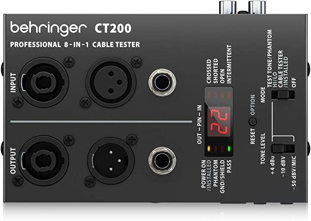 BEHRINGER CT200 Cable Tester