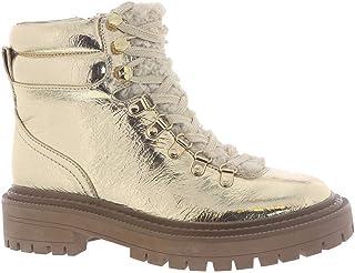 حذاء السيرك من سام إيديلمان للنساء فلورا منتصف الساق، ذهبي، 10