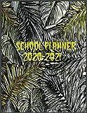 School Planner 2020-2021: Schoolmate Planner 2020-2021,Monthly Planner Agenda 12 Months Calendar For Business, School, Work 8.5x11