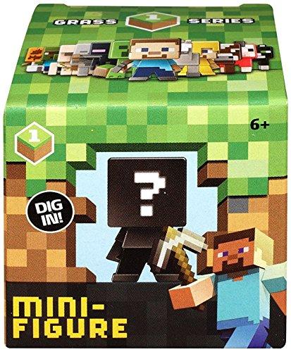 Minecraft Minecraft Grass Series 1 Mini Figure Mystery Pack (Mattel Toys)
