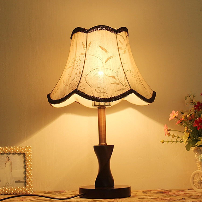 Gute Sache Tischleuchte Massivholz Tischlampe einfache Schlafzimmer Studie Nachttisch Lampe Kette Hotel Zimmer Hotel Lampe