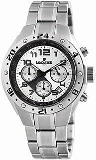 ランカスター 腕時計 イタリアブランド クロノグラフ OLA0502SL/BK [並行輸入品]