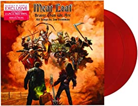 Meat Loaf - Braver Than We Are Exclusive 2X LP Red Color Vinyl LP