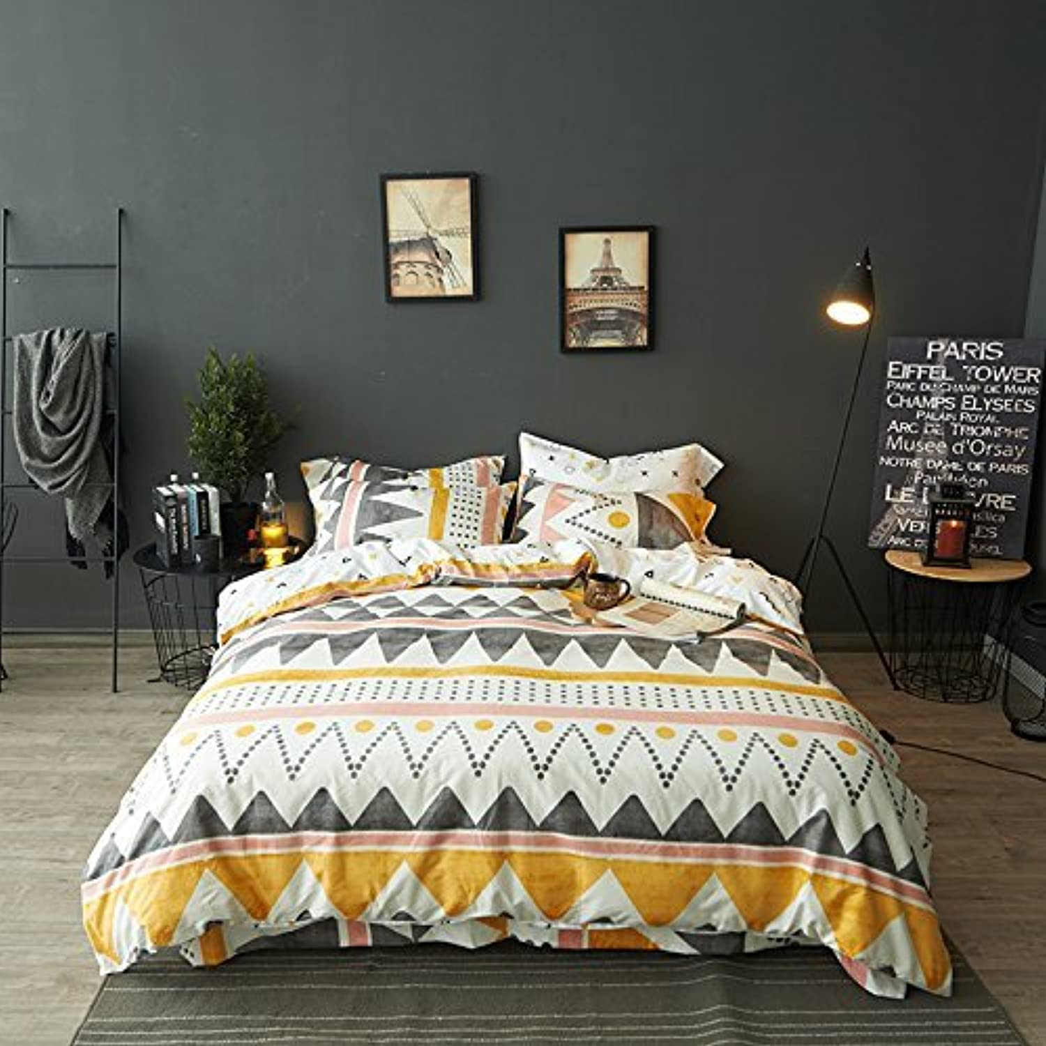 TheFit Paisley Textile Bedding for Young Adult W43 Mountain Boho