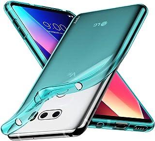 Aeska for LG V30 / LG V30S / LG V30 Plus/LG V30S ThinQ/LG V35 / LG V35 ThinQ Case, Ultra [Slim Thin] Flexible Clear TPU [S...