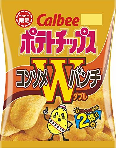Calbee(カルビー)『ポテトチップス コンソメWパンチ』