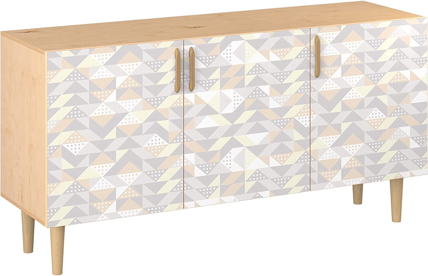 Poppy Los Angeles Mall Sideboard Philadelphia Mall - Natural Velma Design Sty 11 Colors Base 5 in