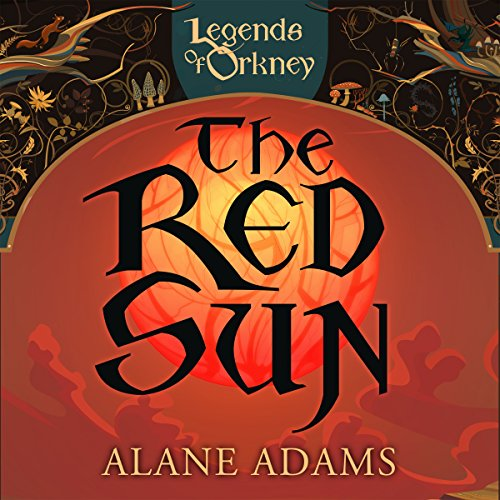 The Red Sun audiobook cover art