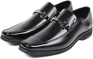 [セレブル] ウォーカーズメイト WALKERS-MATE レザー ビジネスシューズ メンズ 本革 ビット ローファー ロングノーズ 紳士靴 幅広 3e 通気システム 防滑 歩きやすい