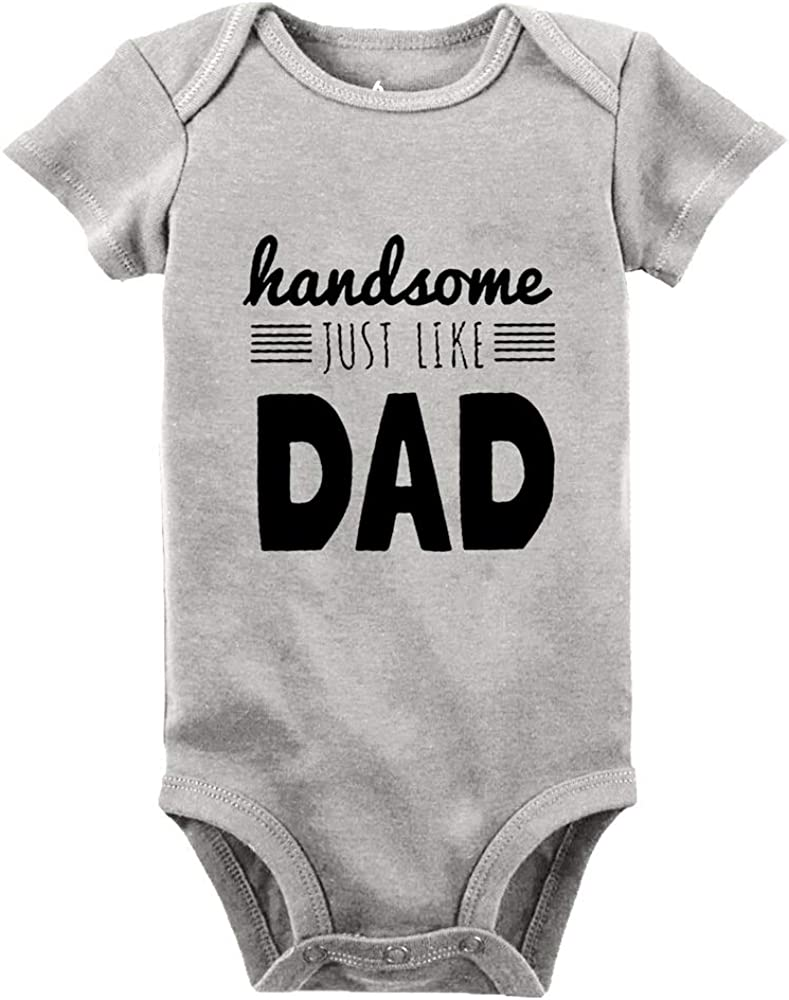 Handsome Just Like Daddy onsie