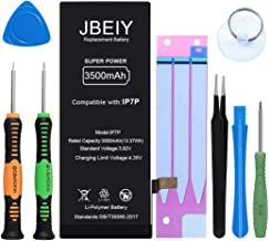 JBEIY Replacement Battery for iPhone 7 Plus, New 3500mAh Super High Capacity Battery kit, with Professional Repair Tools a...