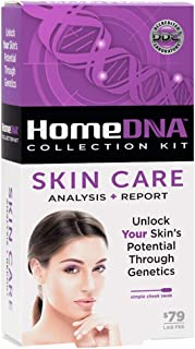 HomeDNA Skin Care at-Home DNA Test Kit | Lab Fees NOT Included | Kit ONLY