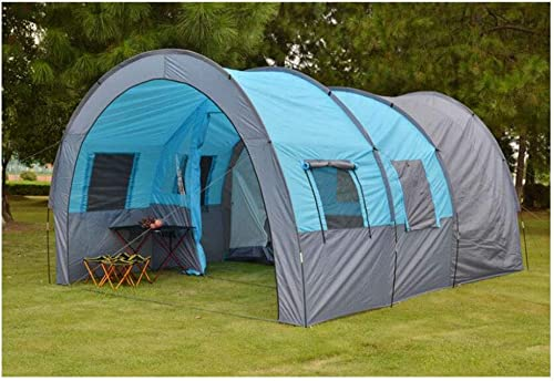 ZWYY Anti-UV,SpaciousTente, extérieur 5-8 Personnes Une Chambre et Une Salle de séjour tentes Camping imperméable surdimensionné tentes familiales,1,480  310  210cm