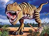 Ceaco Dino Glow in The Dark  TRex Puzzle (100 Piece)