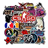 CSGO Stickers Counter-Strike Shooting Game Laptop Stickers for Water Bottle Computer Mac Pad Luggage Skateboard Stickers