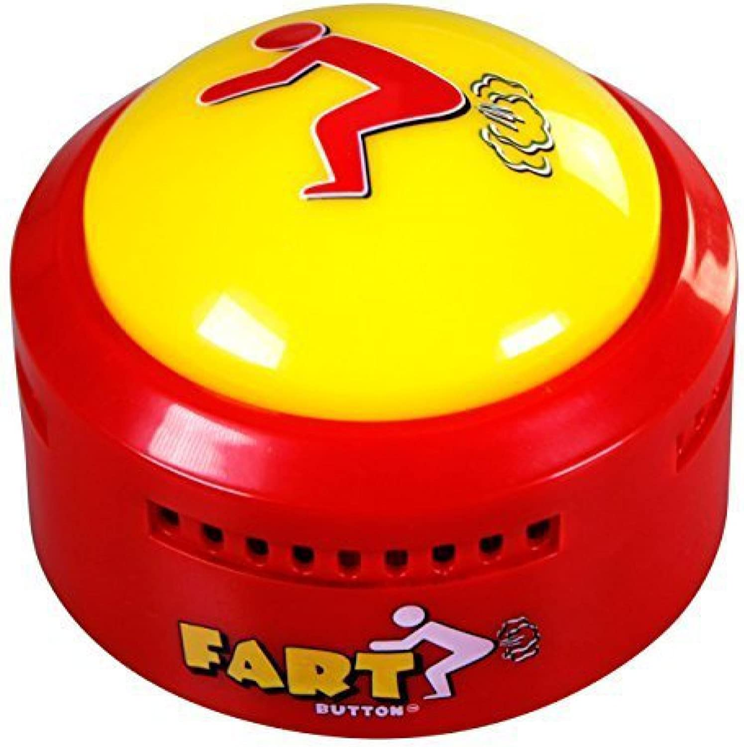 Fart Button (Lights Up, 20 Hilarious Fart Sounds)