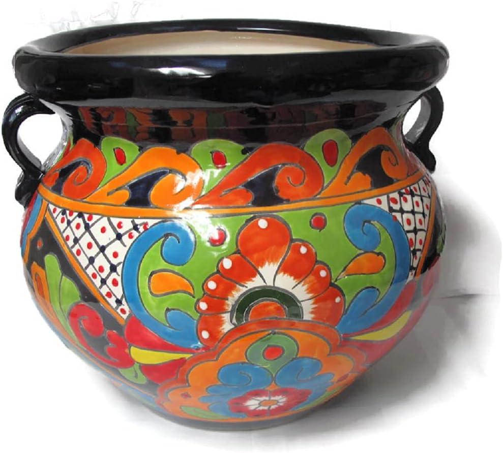 Talavera Pottery Detroit Mall Store Michoacana Arlington Mall Planter Po Medium Hand Painted