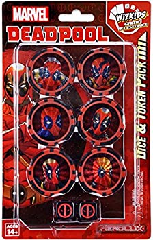 WizKids Marvel HeroClix  Deadpool Dice & Token Pack