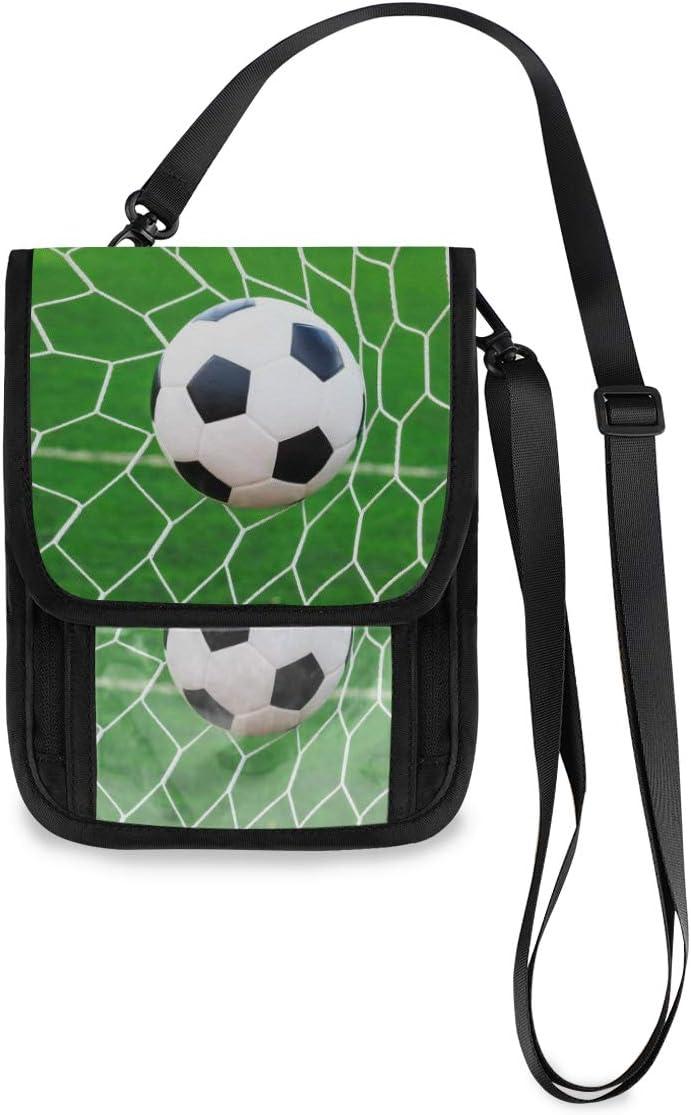 KUWT Travel Nippon regular agency Trust Neck Wallet Sport Ball Holder Soccer Passport Or Net