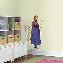 RoomMates Anna met Cape Disney Frozen herpositioneerbare kindermuurstickers, meerkleurig