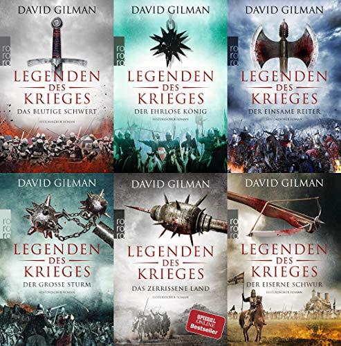 Die Legenden des Krieges Band 1-6 plus 1 exklusives Postkartenset