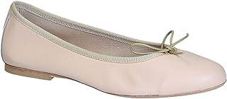 Leonardo Shoes Ballerine in Nappa Color Cipria - Codice Modello: 6087 Nappa Nude