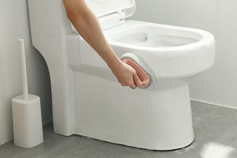 T-MAKER 3Pcs Kitchen Sponge Bathtub Pool Scrub Brush Strong Scouring Dish Washing Cleaning Brush