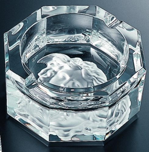 Price comparison product image Versace by Rosenthal Medusa Lumiere Clear Ashtray