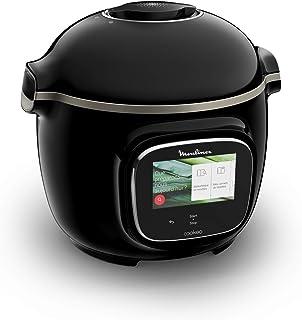 Moulinex Cookéo Touch Wifi - CE902800 - Multicuiseur Intelligent, Haute Pression, Connecté, Écran Tactile, 250 Recettes, 1...