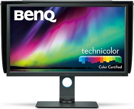 BenQ SW320 31.5 inch 4K Photographer Monitor, 3840x2160 UHD, HDR, 99% AdobeRGB, 100% Rec.709, DCI-P3, HW Calibration, 14-bit 3D LUT, Gamut Duo, HDMI 2.0, Hotkey Puck