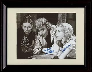 Framed Gene Wilder Autograph Replica Print - Young Frankenstein
