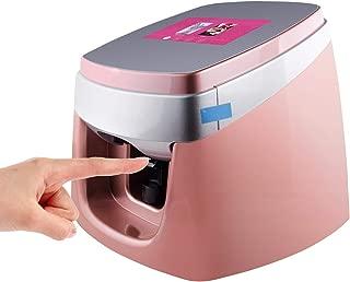 TUOSHI NP10 Nail Printer Machine - Professional 3D Digital Nail Art Printer - Support WiFi/DIY/USB (Pink)