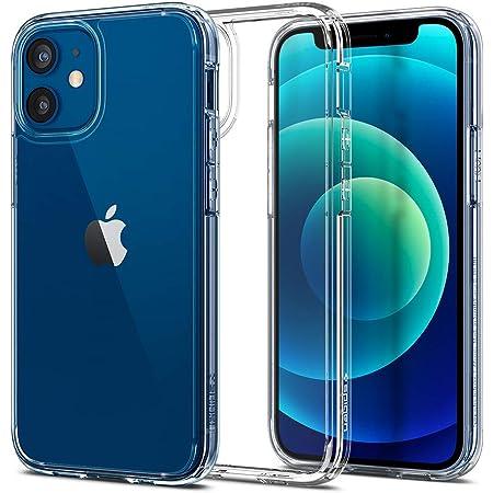 Spigen 全透明 iPhone12 mini 用 ケース 5.4インチ MagSafe 対応 ケース クリアケース 米軍MIL規格取得 耐衝撃 すり傷防止 Qi充電対応 アイフォン12ミニケース ウルトラ・ハイブリッド クリスタル・クリア ACS01745