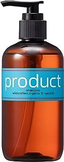 product(ザ・プロダクト) シャンプー 240ml / オーガニック ノンシリコン ボタニカル サロン品質 保湿 ツヤ 天然由来 柑橘系の香り