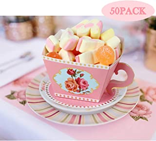 teacup candy party favors
