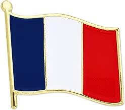 PinMart France French World Flag Enamel Lapel Pin
