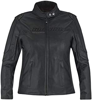 Can-Am Spyder New OEM Ladies Veronica Leather Jacket, Black, XL, 4406811290