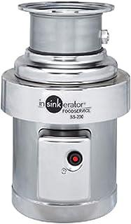 InSinkErator SS-200-7-AS101 完全ディスポーザーパッケージ 直径6-5/8インチ #7付き