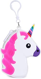 KOMTO Unicorn Coin Purse/Coin Pouch/Coin Holder/Cute Girls Unicorn Animal Pattern Silicone Wallets Handbag (2)