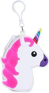 KOMTO Unicorn Coin Purse/Coin Pouch/Coin Holder/Cute Girls Unicorn Animal Pattern Silicone Wallets Handbag (2)