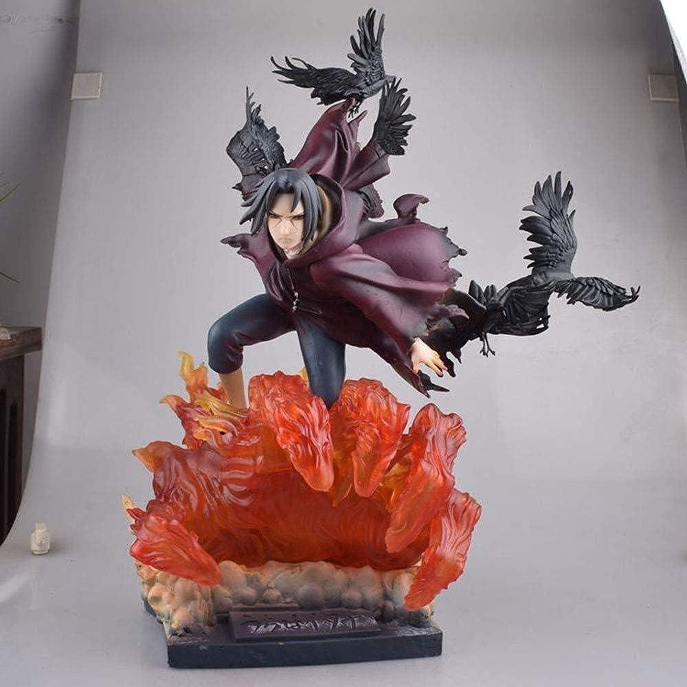 Naruto Anime In stock Akatsuki security Huge Statue Uchiha Version Itachi