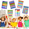 Blulu 12 Pieces Educational Math Posters for Kids ... #1