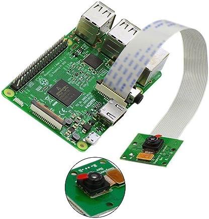 PERG Rate bordo modulo fotocamera 5MP Webcam Video 1080p 720p per Raspberry Pi 3& pi 2 - Trova i prezzi più bassi